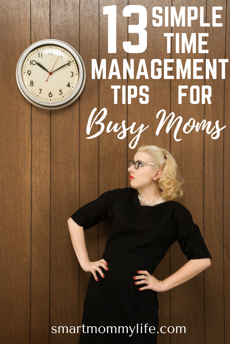 Effective time management tips and strategies for busy moms who want to improve their time management skills and get more work done in less time. Get FREE productivity planner printable for your daily, weekly and monthly schedules and goal tracker to track your goals