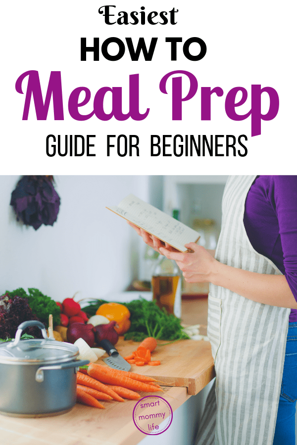 This how to meal prep for beginners guide is the easiest meal prep guide that will give you the basics you need to know on how you can go about meal prepping so you can spend less time cooking every week