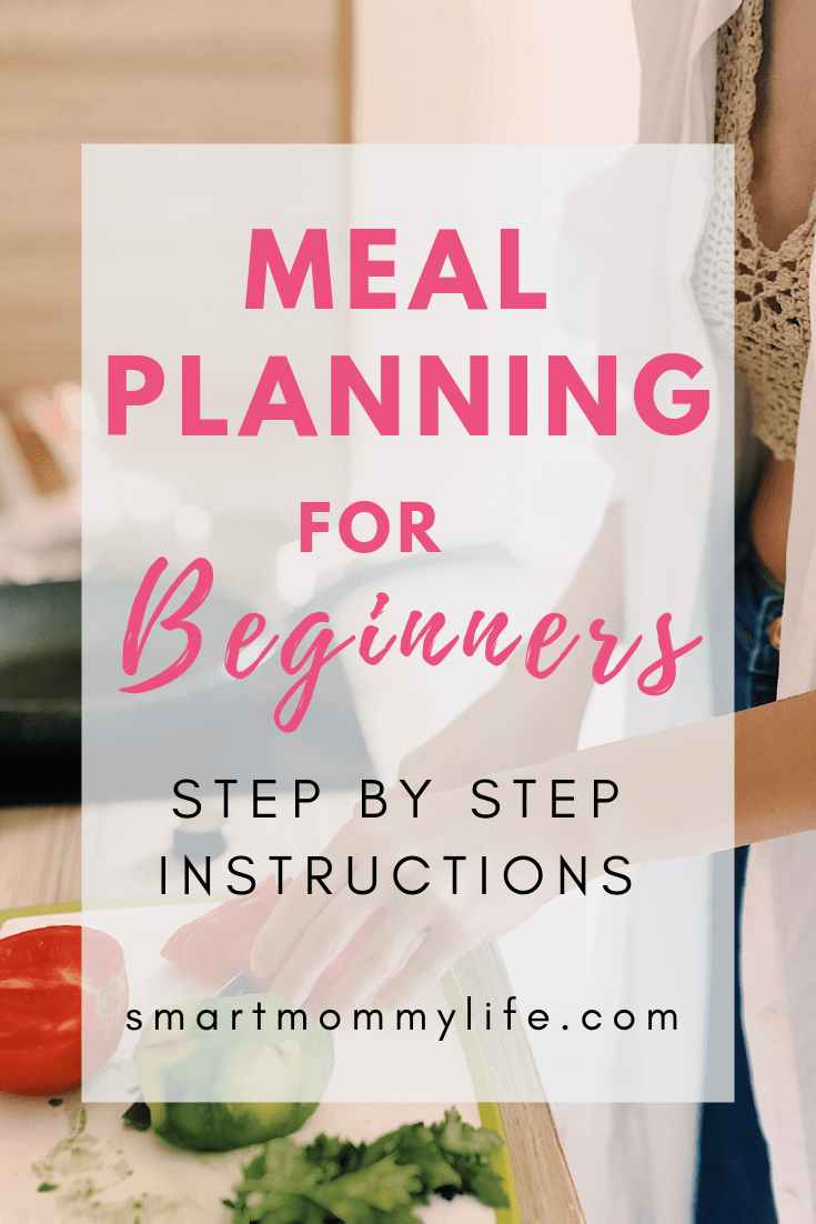 A simple meal planning for beginners guide that will teach how to meal plan for a week to save you time and money. A system to take the stress out of cooking dinner for the family.